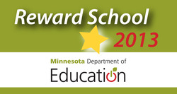 2013 MN Department of Education reward school