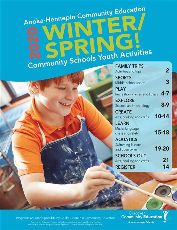 Community Schools Winter/Spring Catalog