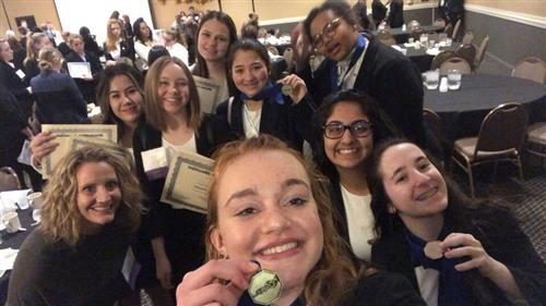 HOSA participants heading to international competition.