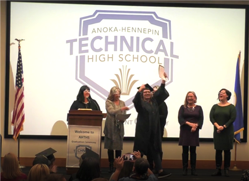 Anoka-Hennepin Technical graduation