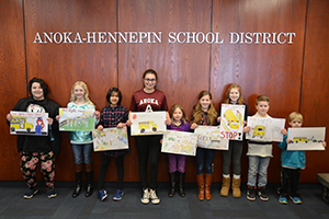 Bus Safety Poster Contest winners