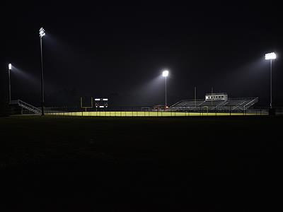 Andover High School stadium lights on to honor the 2020 senior class