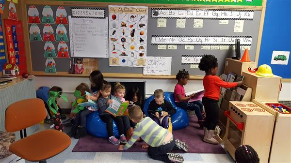 Preschoolers Reading Their Favorite Books
