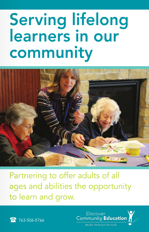 Brochure: Serving lifelong learners in our community