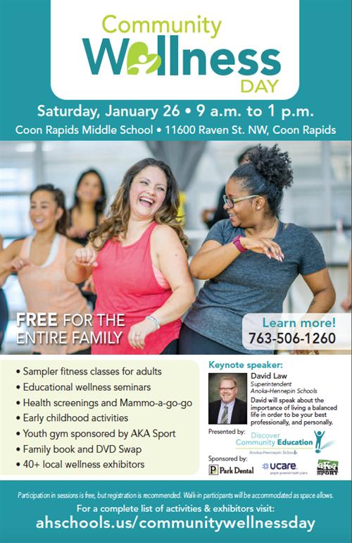 Community Wellness Day - New York Association of ... |Wellness Day Event Flyers