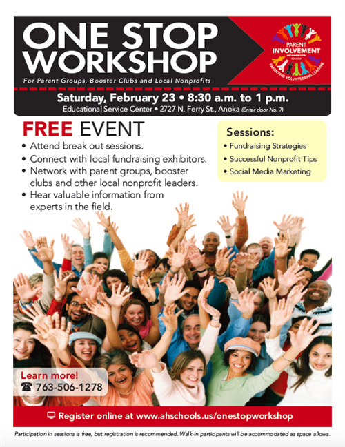 One Stop Workshop flyer