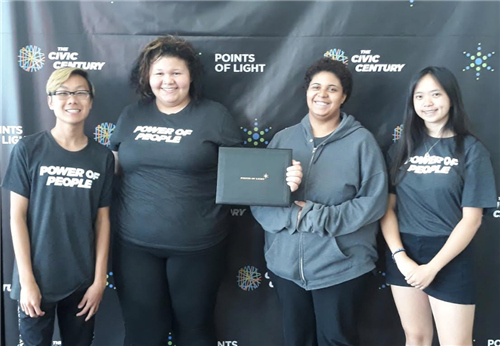 Coon Rapids High School students recognized at Points of Light summit