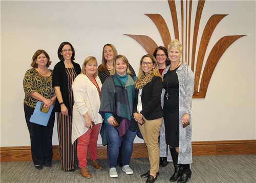 Communtiy Education staff recognized at Nov. 12 school board meeting