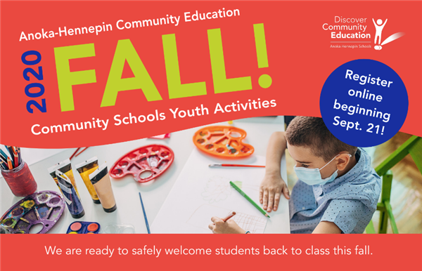 Fall community education activities graphic