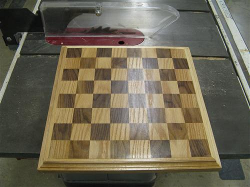 Woods 1 Chess/ Checker Board