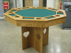 Woods IV Poker Table