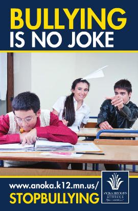 Bullying is No Joke - Secondary brochure