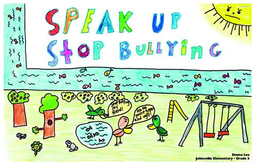 Anti-bullying poster example