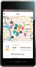 FirstView bus app