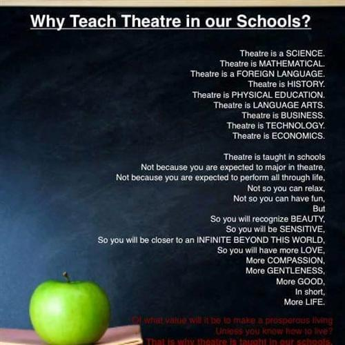Why Teach Theater