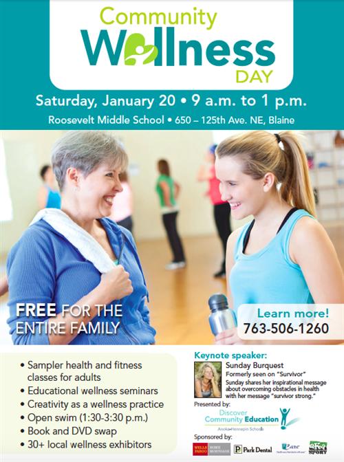 Community Wellness Day flyer