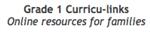 Grade 1 Curricu-links