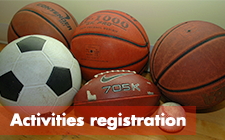 Activities registration