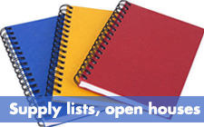 Supply lists and open houses