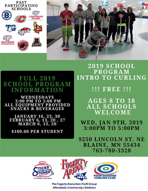 2019 curling club school program