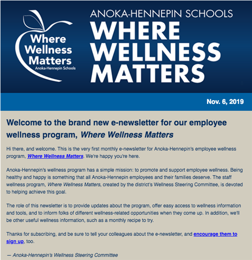 Where Wellness Matters