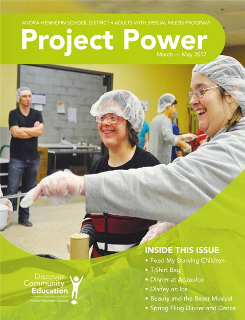 Project Power catalog, spring 2017