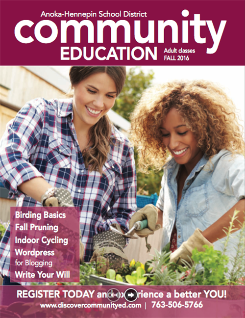 Adult learning - fall 2016 catalog