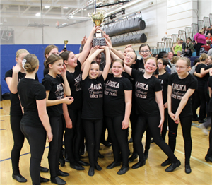 Anoka MS team celebrates competition win