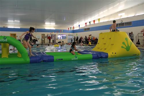 Community Pools Open Swim School Year